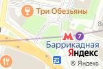 Схема проезда до компании Му-Му в Москве