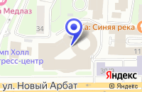 Схема проезда до компании B-Parts в Москве