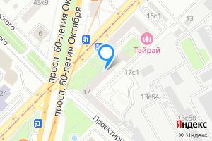 Двухкомнатная квартира в Москве улица Вавилова, 17