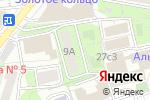 Схема проезда до компании Серебряный волк в Москве