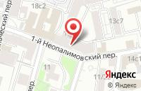 Схема проезда до компании Рив Консалтинг в Москве