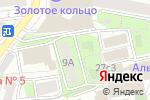 Схема проезда до компании МехДизайн в Москве