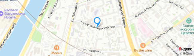 переулок Неопалимовский 1-й