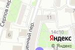 Схема проезда до компании Федерация детского спорта России в Москве