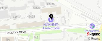 MWT Racing на карте Москвы