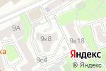 Схема проезда до компании Милль Флер-Люкс в Москве