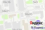 Схема проезда до компании Шаховская Земля в Москве