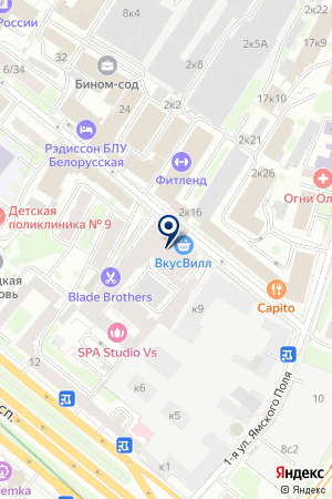 ТФ KRAUS & NAIMER на карте Москвы