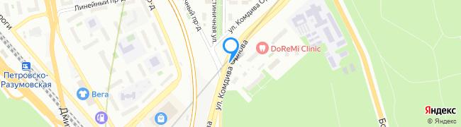 улица Комдива Орлова