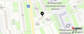 СААНД-АВТО на карте Москвы