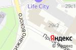 Схема проезда до компании Полимедиа в Москве
