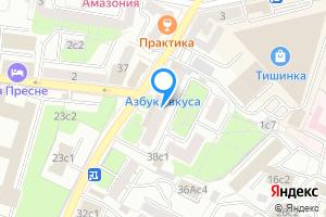 Однокомнатная квартира в Москве Большая Грузинская ул., 42