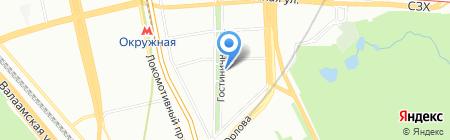 Спутник-Телеком на карте Москвы