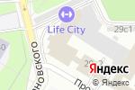 Схема проезда до компании Бизнес Профиль в Москве