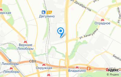 Местоположение на карте пункта техосмотра по адресу г Москва, ш Алтуфьевское, д 27А стр 2