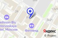 Схема проезда до компании DEEPAPPLE в Москве