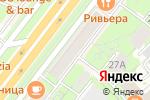Схема проезда до компании БАНК УРАЛСИБ в Москве