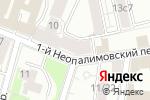Схема проезда до компании Штраус в Москве