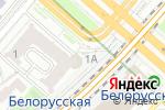 Схема проезда до компании Москва-Пассажирская-Смоленская в Москве