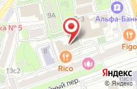 Схема проезда до компании Проектная Аналитика в Москве