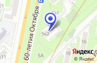 Схема проезда до компании ИНФОРМАЦИОННОЕ АГЕНТСТВО ТЕХНОСЕРВИС XXI ВЕК в Москве
