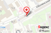 Схема проезда до компании Финлит в Москве