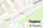 Схема проезда до компании PlantsPro в Москве