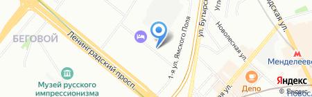 Чистый мир на карте Москвы