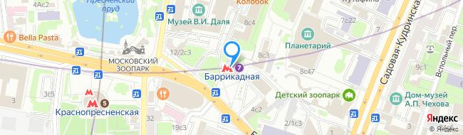 метро Баррикадная
