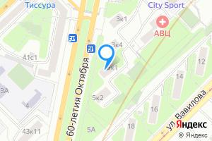 Однокомнатная квартира в Москве проспект 60-летия Октября, 5к1