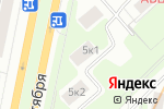 Схема проезда до компании Золотая Лига в Москве