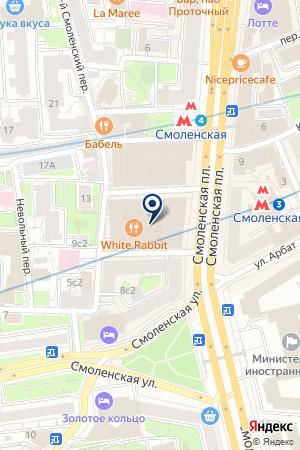 ИНФОРМАЦИОННОЕ АГЕНТСТВО GOOGLE на карте Москвы