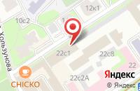 Схема проезда до компании Ресурс-М в Москве