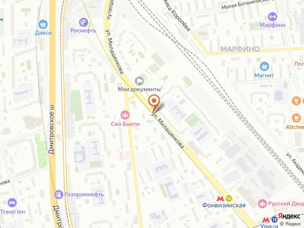 Остановка Управа района Бутырский в Москве