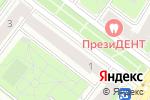 Схема проезда до компании Crystal eyes в Москве