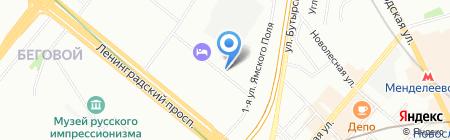Модерн на карте Москвы