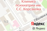 Схема проезда до компании Адвокатское бюро Зотовой Е.С. в Москве
