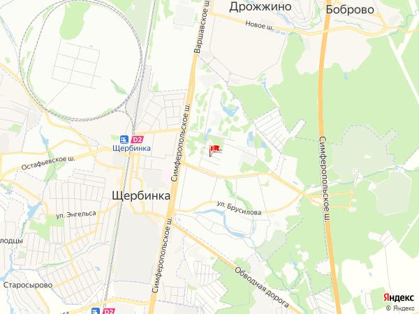Карта населенный пункт Липки