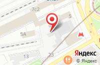 Схема проезда до компании Союз Инвесторов в Москве