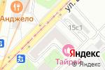 Схема проезда до компании United Card Service в Москве