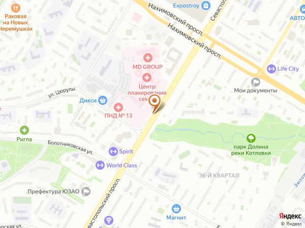 Остановка Зюзинская ул. в Москве