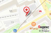 Схема проезда до компании Сст в Москве