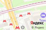 Схема проезда до компании Станция Дмитровская в Москве