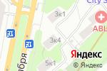 Схема проезда до компании U-VITA в Москве
