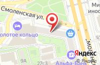 Схема проезда до компании Фэрплей в Москве