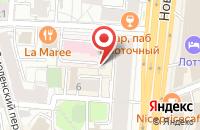 Схема проезда до компании Леон в Москве