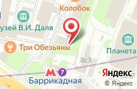 Схема проезда до компании Судья в Москве