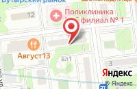 Схема проезда до компании Тирос в Москве