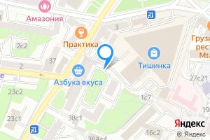 Однокомнатная квартира в Москве Большая Грузинская улица, 42с2