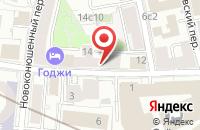 Схема проезда до компании Спектр в Москве